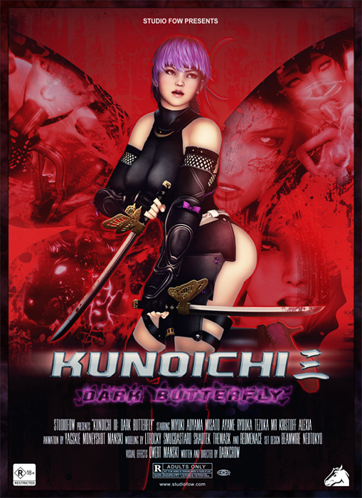Kunoichi 3 Dark Butterfly Vol.1