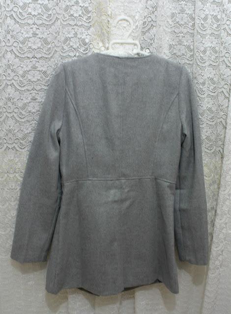 Abrigo largo gris Sammydress