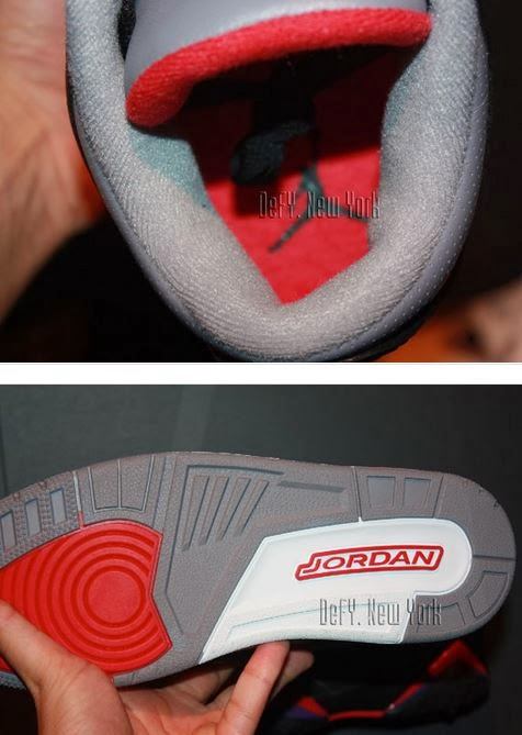 big sale 1a9db 84b9b Here is new images via defy newyork of the Nike Air Jordan 3 III Retro  88  Black Cement Grey Sneaker which is rumored to release on black Friday, ...