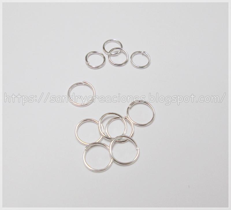 anillas bisutería