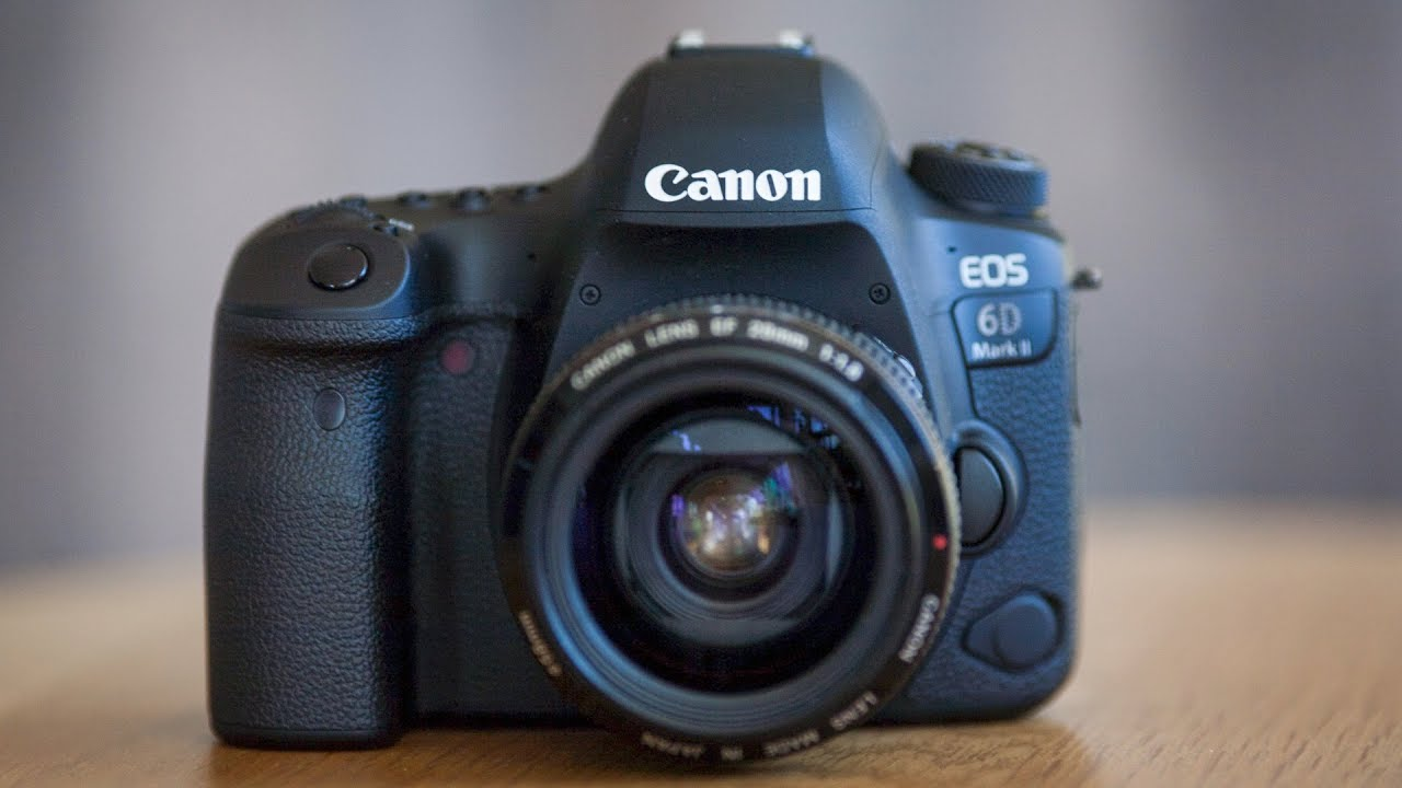 5 Reasons to Buy a Canon 6D Mark II - A DSLR with Mirrorless Capabilities