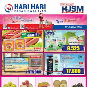 Katalog Promo Hari Hari Swalayan Weekend 17 - 20 Mei 2018