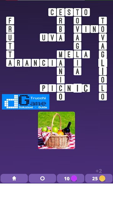 Soluzioni One Clue Crossword livello 1 schema14  (Cruciverba illustrato)  | Parole e foto