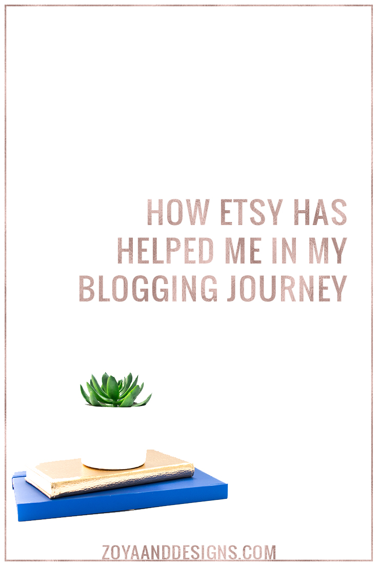 etsy blogging journey