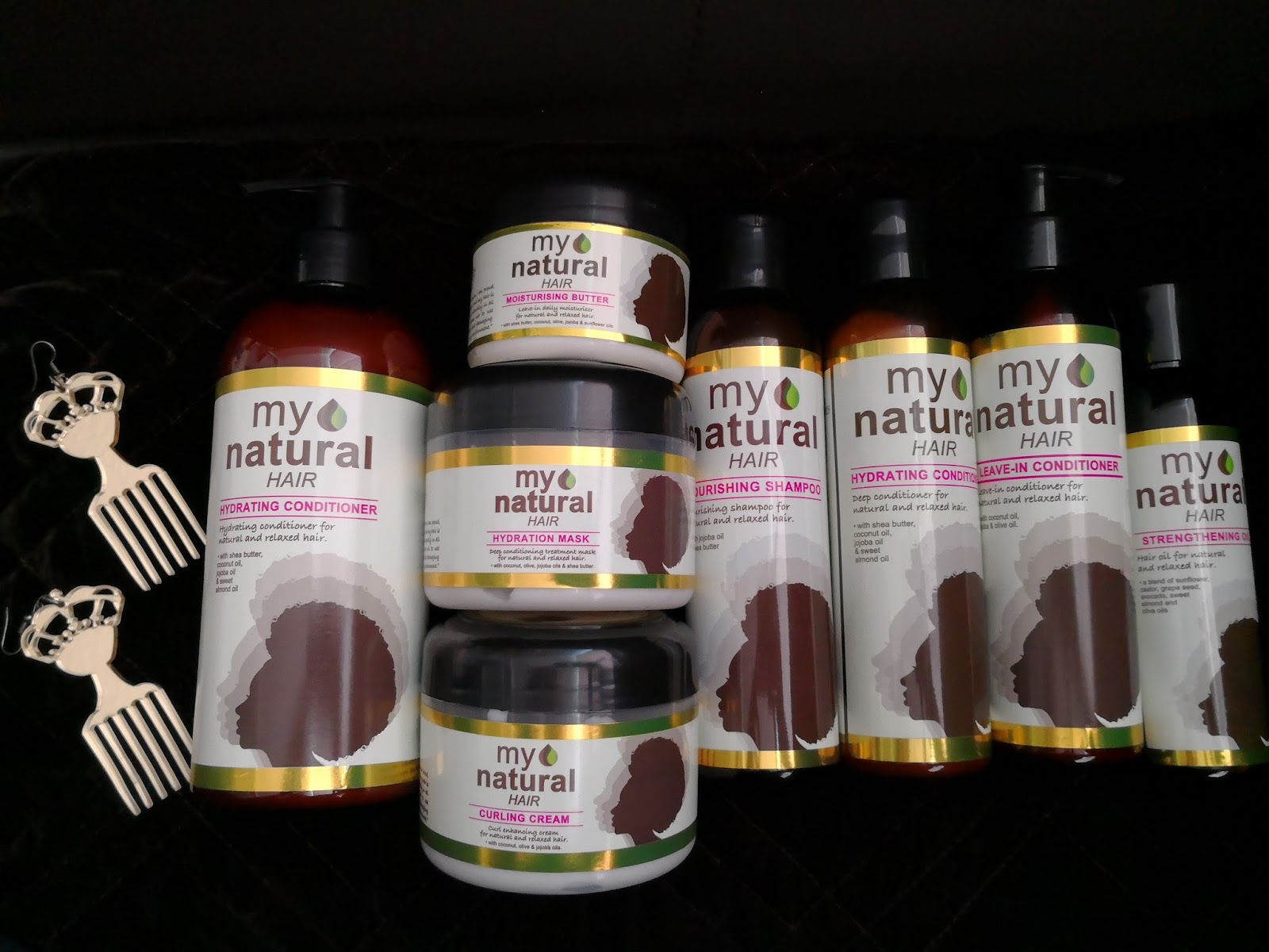Natural Hair Styling Tools: Let Your Hair Speak With My Natural Hair Care Range
