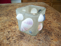 Beach Souvenir Candle Holders | scriptureand.blogspot.com