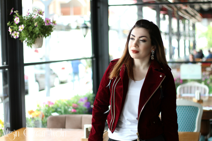 moda blogu-Zaful-kadife ceket-fashion blogger