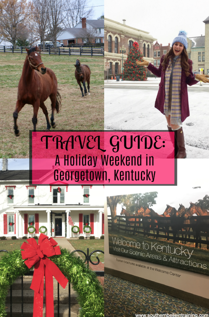 Georgetown Kentucky Travel Guide - perfect girls' trip