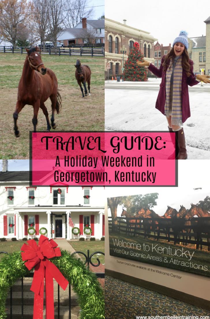 Georgetown Kentucky Travel Guide - perfect girls' trip