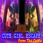 Play Games4King Cute Girl Escape From The Castle