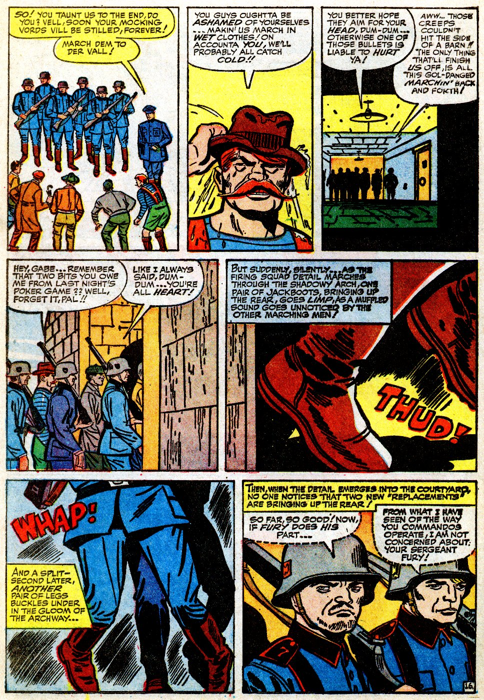 Read online Sgt. Fury comic -  Issue #9 - 22