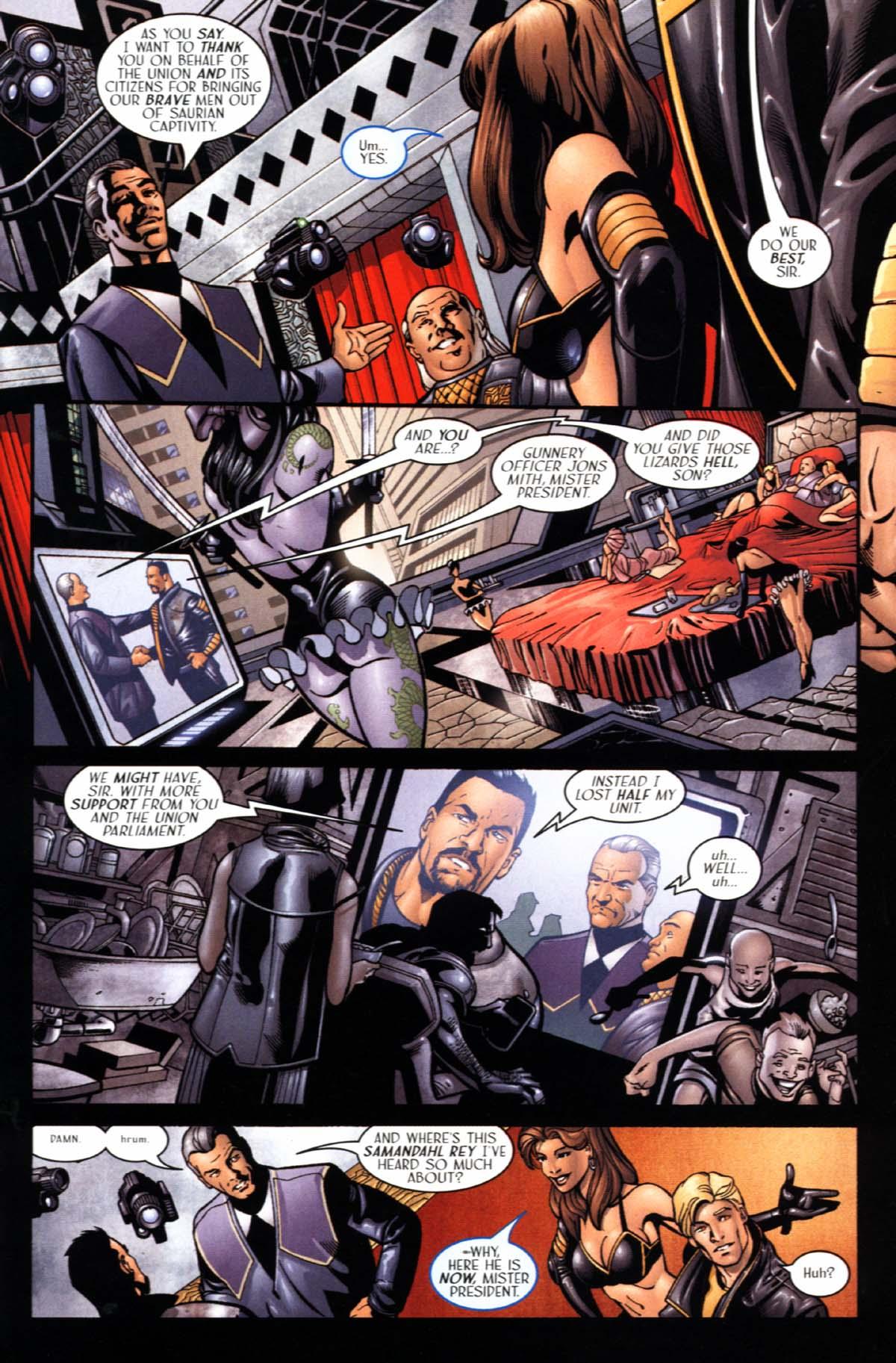 Read online Sigil (2000) comic -  Issue #21 - 17