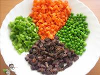Nigerian Egg Fried Rice ingredients