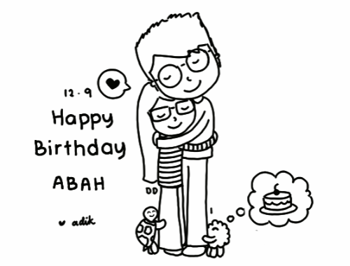 Birthday Abah