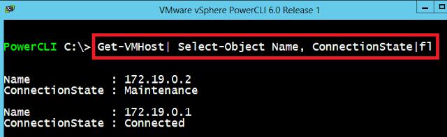VMWare: ESXi modo mantenimiento