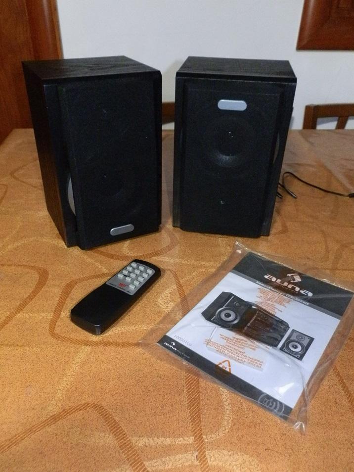 AUNA 388-BT, impianto stereo con giradischi, cassette e bluetooth retrò
