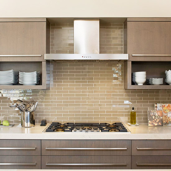 Kitchen Backsplash Design Ideas: New Home Interior Design: Kitchen Backsplash Ideas: Tile