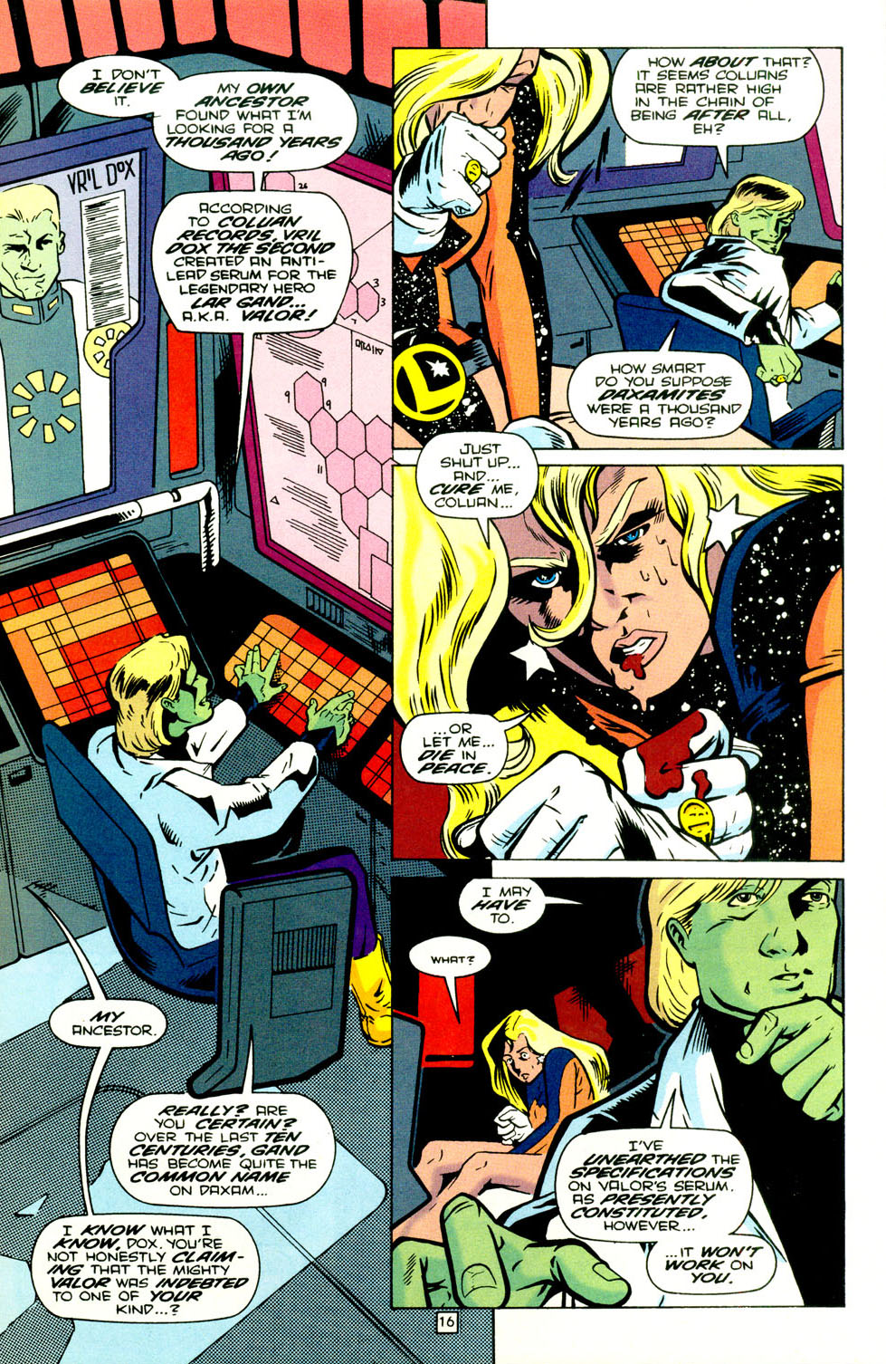 Legion of Super-Heroes (1989) 70 Page 17