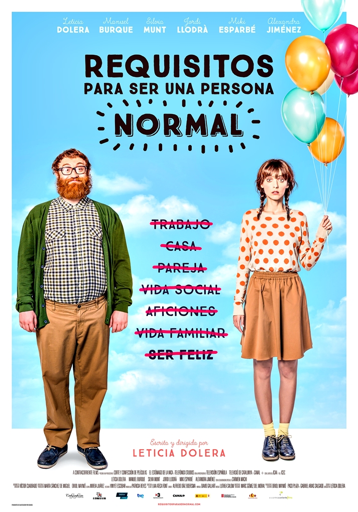 Póster Requisitos para ser una persona normal