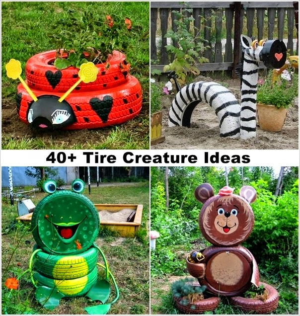 are you looking for a fun and unique way to decorate your garden if so