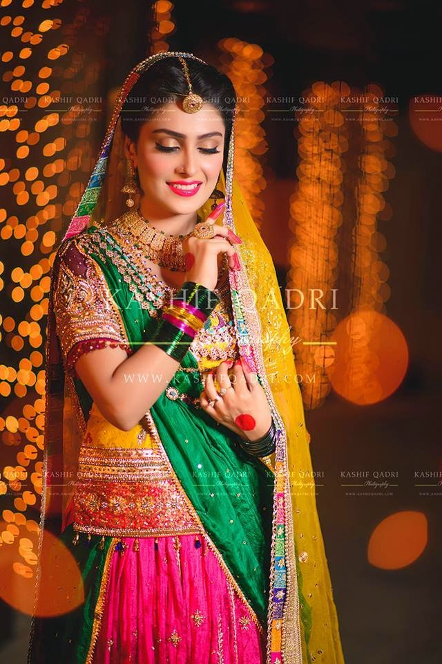 Bridal Photo Shoot Of Aiza Khan Just Bridal