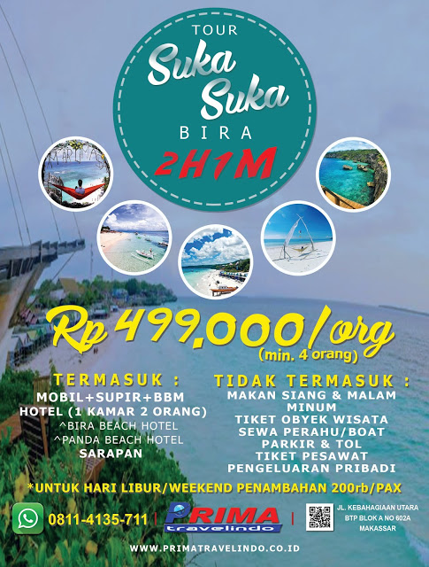 Paket Tour Suka-Suka Tanjung Bira 2 Hari 1 Malam