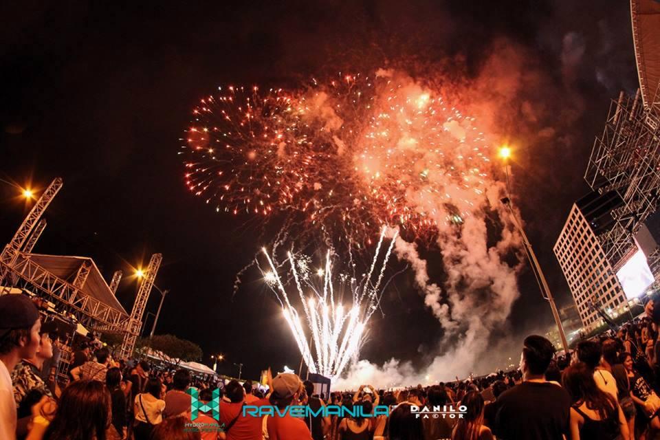 HYDRO MANILA 2016 fireworks