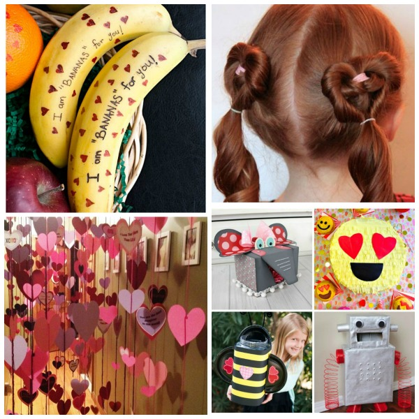 30 SIMPLE WAYS TO CELEBRATE VALENTINE'S DAY WITH KIDS.  Can I be a kid again please?  These are so cool!