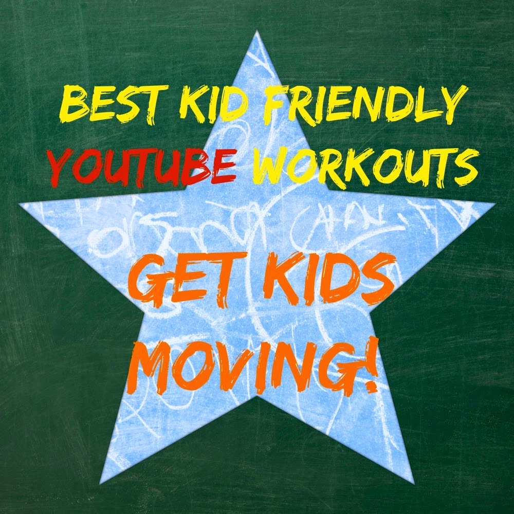 Best Kid Friendly YouTube Workouts To Get Your Kids Moving - great for homeschool and after school activity. BMoreFit, Pretty Girls Sweat, Power Girl Fitness and more!