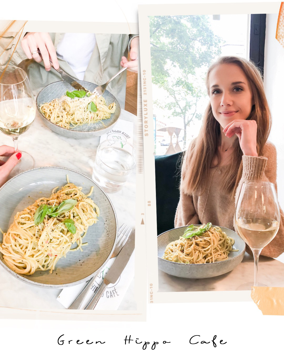 Helsinki restaurants / Ravintolat Helsinki: Green Hippo Cafe + avocado pasta