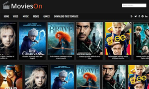 Movies On Free Responsive Movies Blogger Template