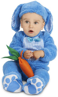 Blue Bunny Costume on PartyBell.com