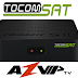 Tocomsat Combate S2  Nova Firmware V1.24 - 31/07/2018