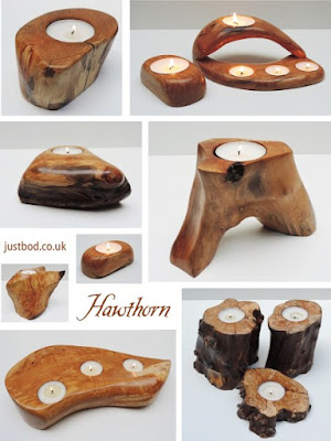 Hawthorn Tealight Holders