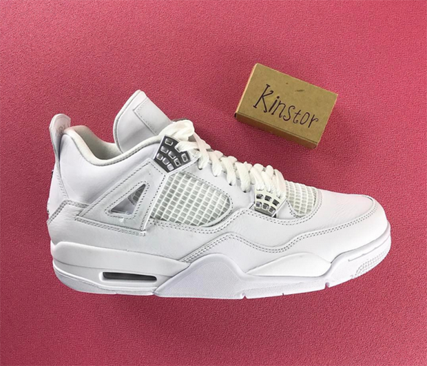 "online store cd665 befc1 The clean white ""Pure Money"" colorway of the Air Jordan 4 is coming back,  and it looks like it will have all the details from the last time it  released in ..."