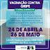 Vacinação contra gripe começa no dia 24 de abril em Santa Cruz do Capibaribe