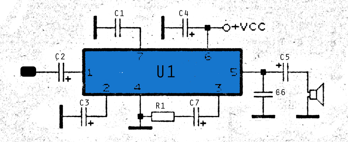 0 15watt amplifier schematic electronic circuit rh elcircuit com