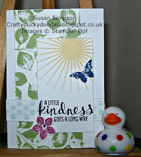 Stampin' Up! Susan Simpson Independent Stampin' Up! Demonstrator, Craftyduckydah!, Kinda Eclectic, Team Challenge