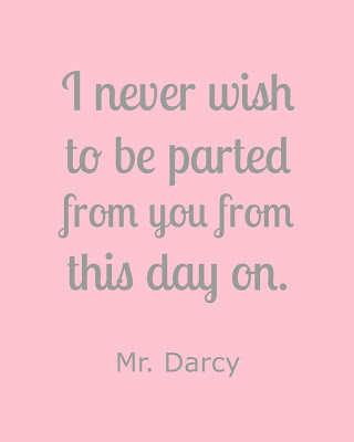Mr Darcy Quotes Delectable Mr Darcy Pride And Prejudice Free Printable Quotes Make Life Lovely