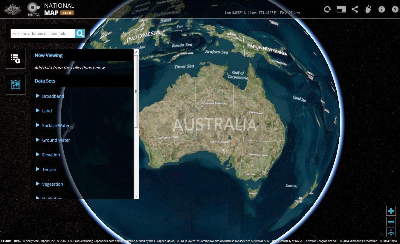 Allthingsspatial National Map - Australia elevation data