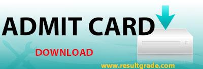 SSPHPGTI Admit Card 2016