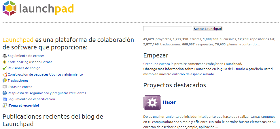 Launchpad alternativa a GitHub - El Blog de HiiARA
