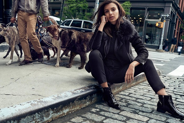 Emily Ratajkowski Masters the Street Style in DKNY's Fall 2017 Campaign