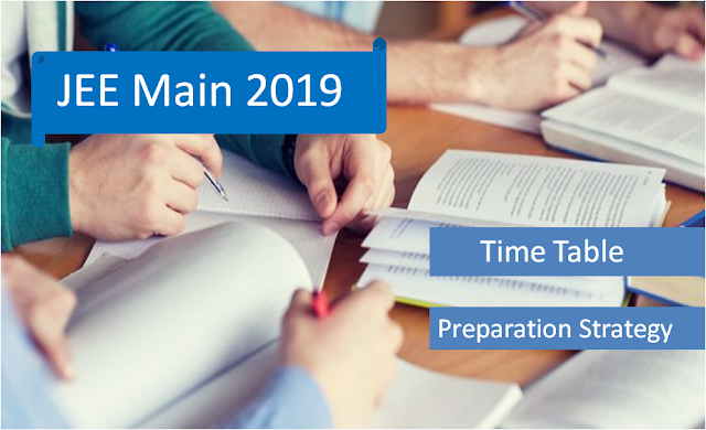 Score Good in JEE Main 2019 Within 3 Months | Time Table NTA 2019