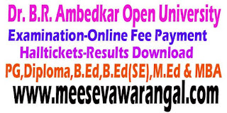 Dr. B.R. Ambedkar Open University BRAOU Admission Portal Online Payment Exam Results