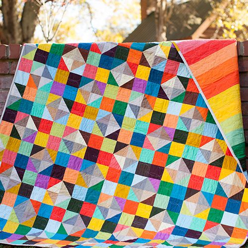 Sparkling Diamonds Quilt Free Pattern