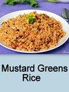 Mustard Greens Rice