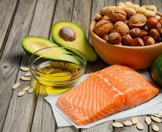 Sumber semulajadi Lemak baik iaitu omega 3 dan omega 6 ialah kekacang, ikan salmon.