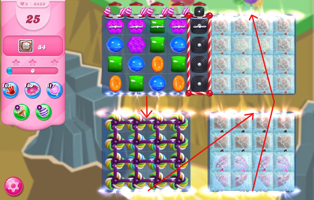 Candy Crush Saga level 6459