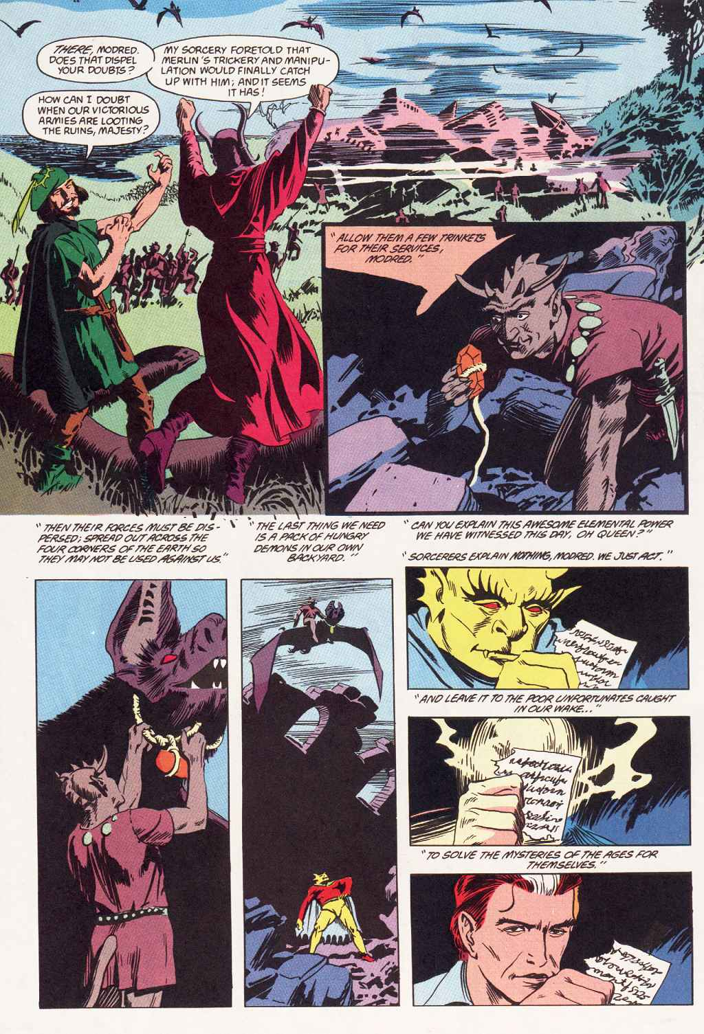 Swamp Thing (1982) Issue #87 #95 - English 13